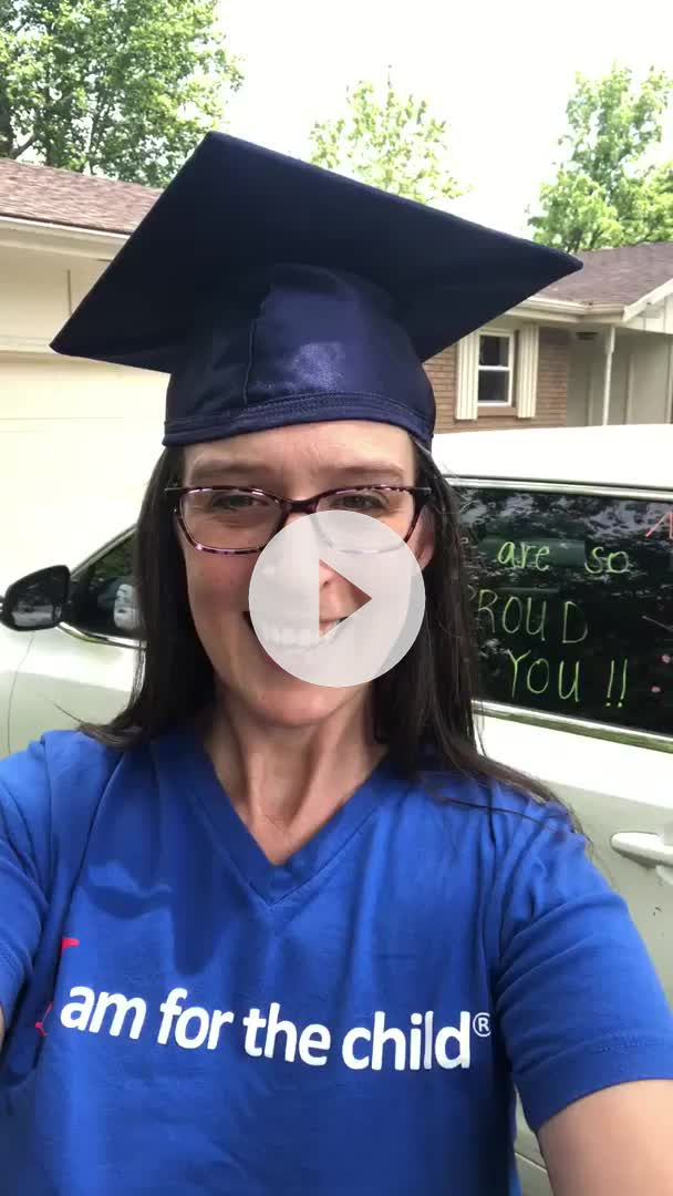 Watch the CASA Northwest Arkansas graduation parade video